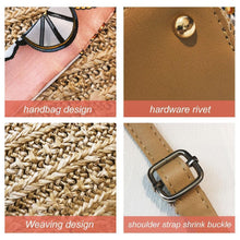 Load image into Gallery viewer, Scarf Daily Rattan Bag Shoulder Bag
