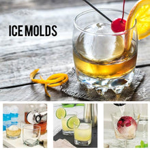 Load image into Gallery viewer, Leak-Free, Sphere Ice Molds with Tight Silicone Seal, 2.5 Inch Sphere