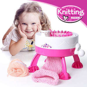 Knitting Machine Diy Manual Toys for Children