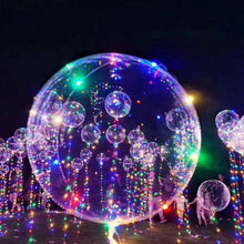 Load image into Gallery viewer, Christmas Party Balloons with LED String Light