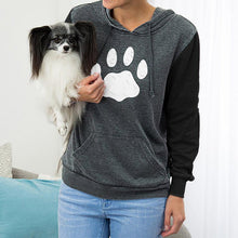 Load image into Gallery viewer, Paw Stripe Crewneck Sweatshirt