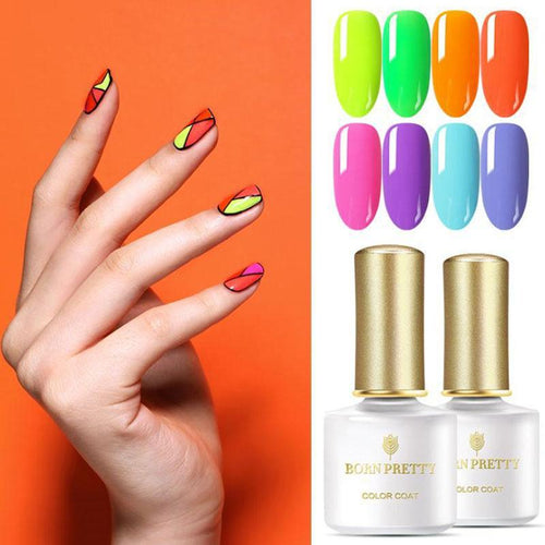 Luminous Neon Nail Gel