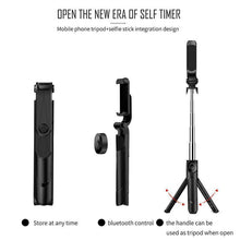 Load image into Gallery viewer, 3 in 1 Wireless Bluetooth Selfie Stick