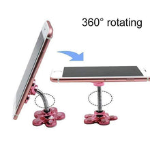 Load image into Gallery viewer, 【SUMMER SALE:50% OFF TODAY】360° Flower Suction Phone Holder