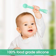 Load image into Gallery viewer, Baby Feeding Set Spoon and Fork( Set Of 3 )