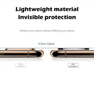 Iphone X Seconds Change 11 Pro Metal Glass Lens Cover
