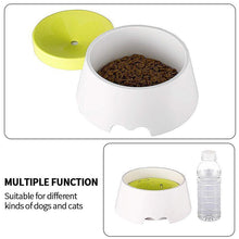 Load image into Gallery viewer, Floating Pet Bowl Splash Proof Drinking Bowl