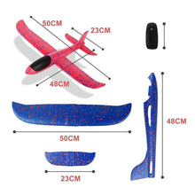 Load image into Gallery viewer, Foam Plastic Flying Glider Airplane(2PCS)