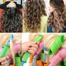 Load image into Gallery viewer, No Heat Magic DIY Hair Curlers (18pcs)
