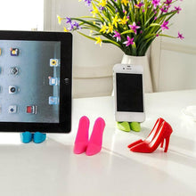 Load image into Gallery viewer, File High Heel Phone Holder