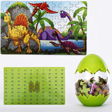 Load image into Gallery viewer, Wooden Dinosaur Puzzle (60 Pieces)