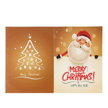 Load image into Gallery viewer, Christmas Card Diamond Picture