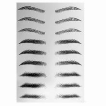 Load image into Gallery viewer, 4D Hair-like Authentic Eyebrows (10 pairs * 2pcs)