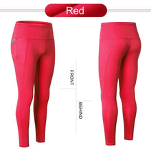 Load image into Gallery viewer, High Waist Yoga Pants with Telescopic Drawstring