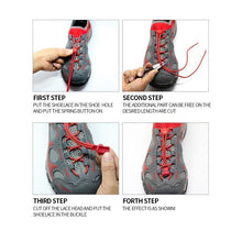 Load image into Gallery viewer, Elastic Fashionable Shoe Laces (2 Pairs)
