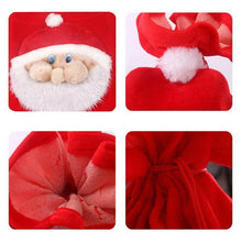 Load image into Gallery viewer, Christmas Decoration Santa Large Sack Stocking Big Gift Bags