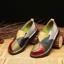 Load image into Gallery viewer, New Fashion Women's Leather Flat Shoes