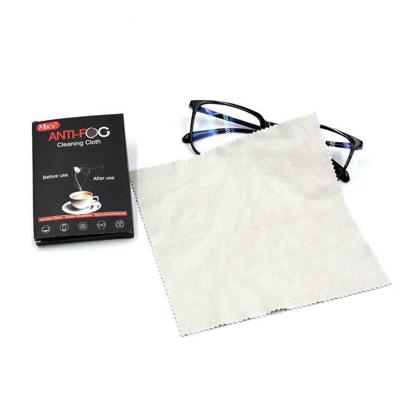 Defog Nano-Microfiber Wipe Cloth for Glasses