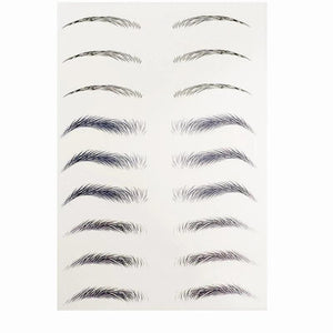 4D Hair-like Authentic Eyebrows (10 pairs * 2pcs)