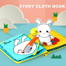 Load image into Gallery viewer, Story Cloth Book For Babies