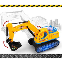 Load image into Gallery viewer, Simulated Electric Bulldozer Excavator