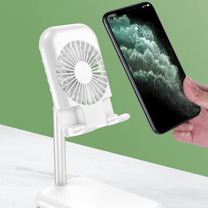 Folding Phone Bracket with Fan