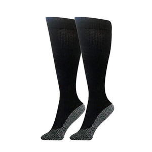 35˚ Below Ultimate Comfort Stockings, 2 Pairs in Black