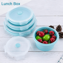 Load image into Gallery viewer, Hirundo Collapsible Lunch Box Set