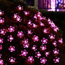 Load image into Gallery viewer, Solar Flower Strings Lights