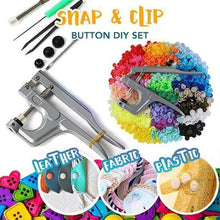 Load image into Gallery viewer, Snap & Clip Button DIY Set (300 Pcs Set)