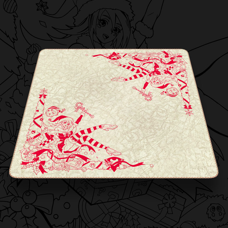 The Holiday Sorceress | Odyssey Marble Ivory x Mistletoe Red