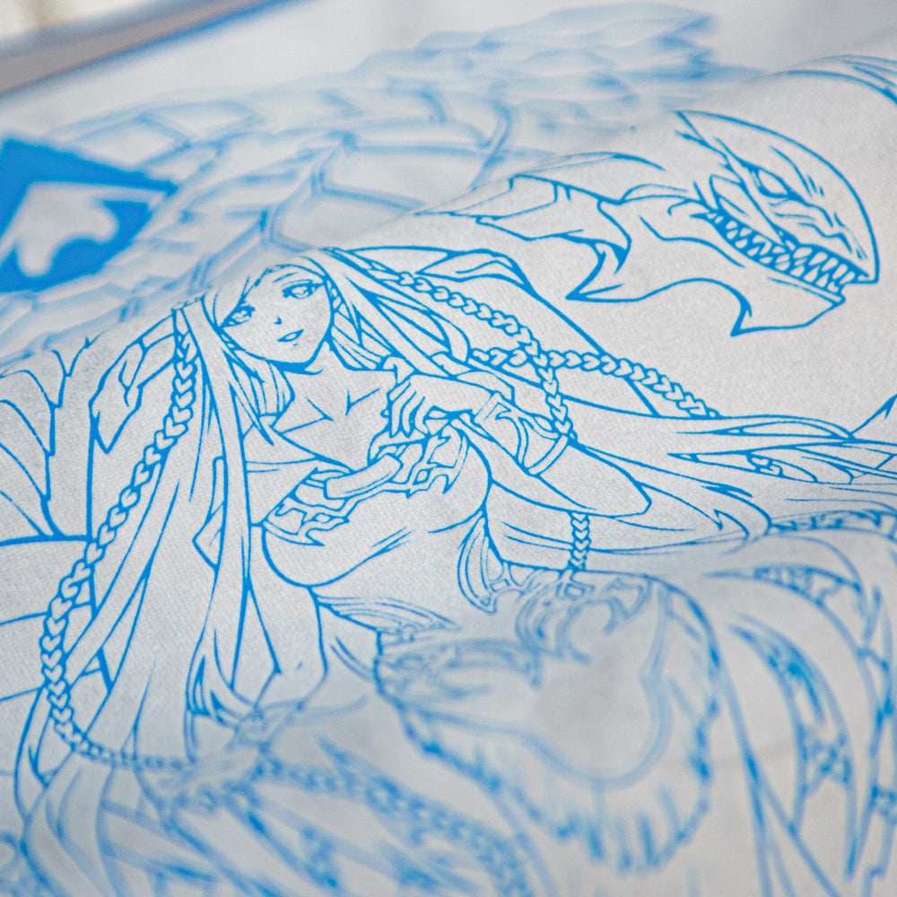 The Dragon's Maiden | Ultraglide in Silver | Royal Blue