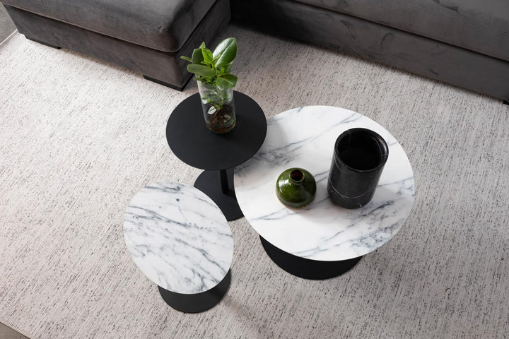 Zuiver Snow Marble Side Table