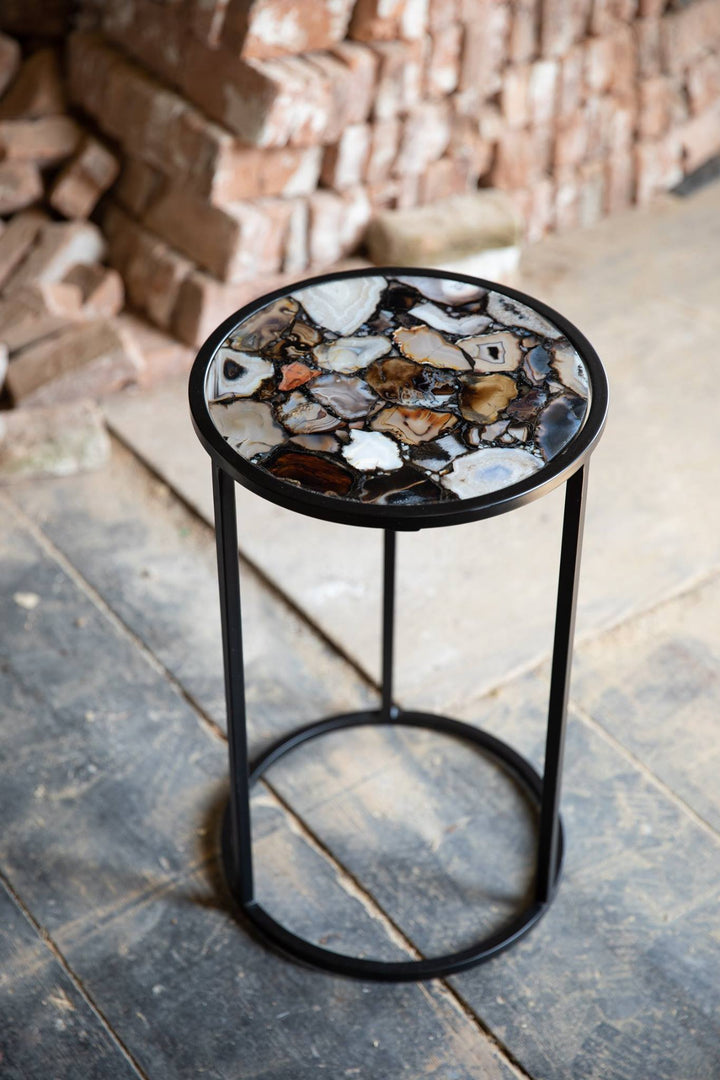 Agate Side Table