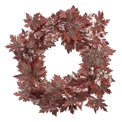 Christmas Leaf Wreath