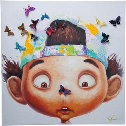 Boy With Butterflies