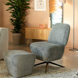 Dusk Lounge Chair & Footstool