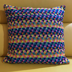 Multicol Triangle Cushion