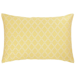 Yellow Lurex Cushion
