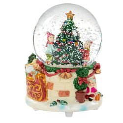 Musical Christmas Snowglobe