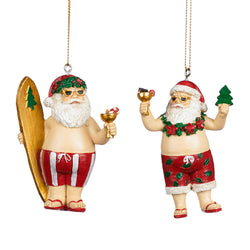 Surf Santa Decoration