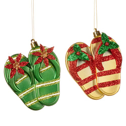 Glitter Flip Flop Decoration