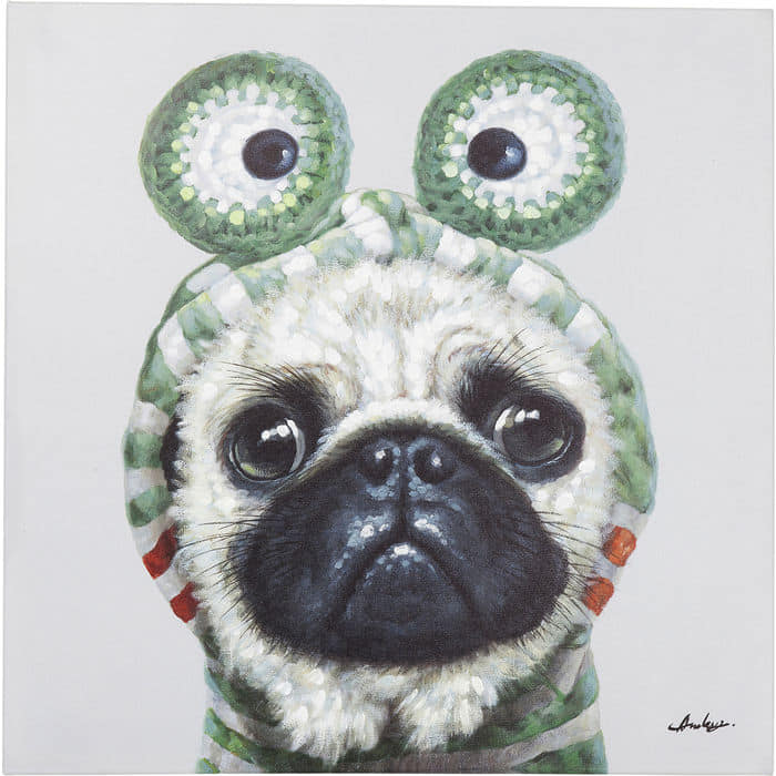 Frog Dog Painting