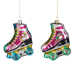 Glass Rollerskate Decoration