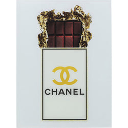 Chanel Glass Art