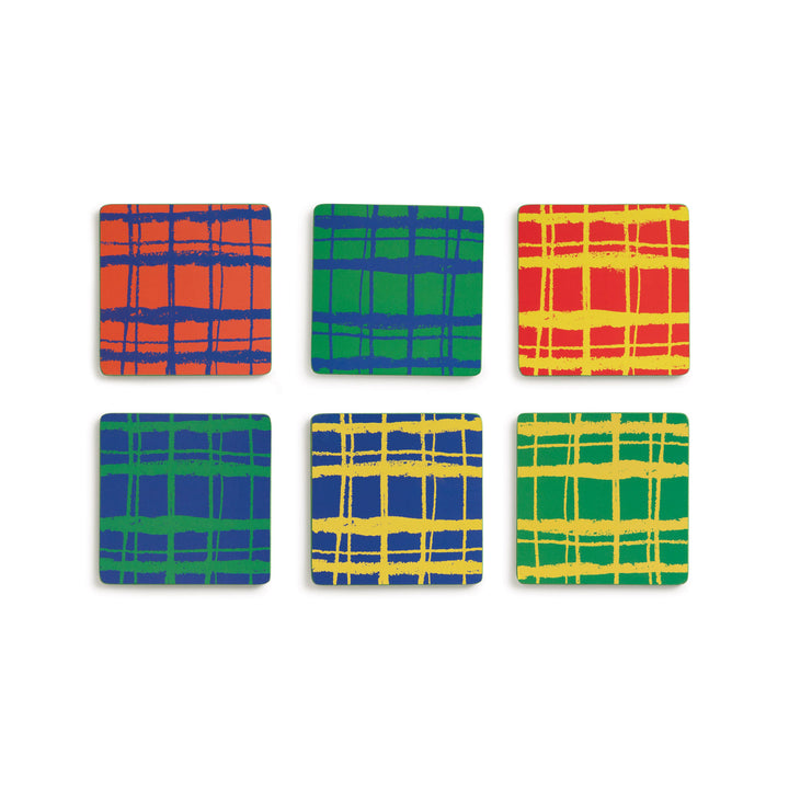 Set 6 Grid Coasters