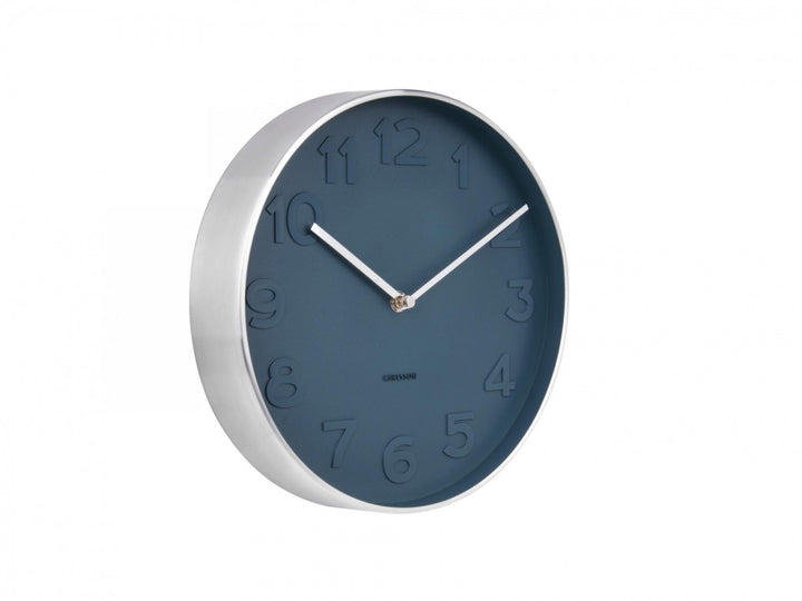 MR Blue Wall Clock