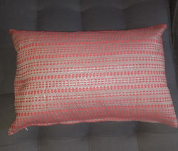 Pink Gold Pattern Cushion