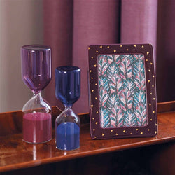 Ceramic Purple Photo Frame