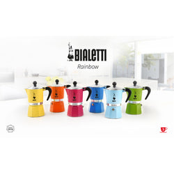 Bialetti Rainbow Stovetop Coffee Maker